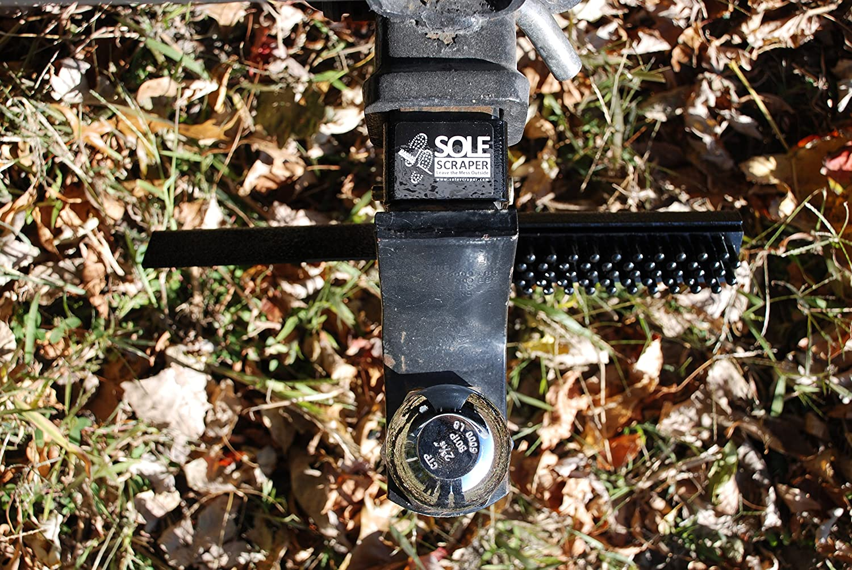 8 Sole Scraper Hitch Mount Boot Cleaner