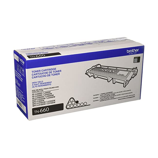 Brother Genuine High-Yield Toner Cartridge, TN...