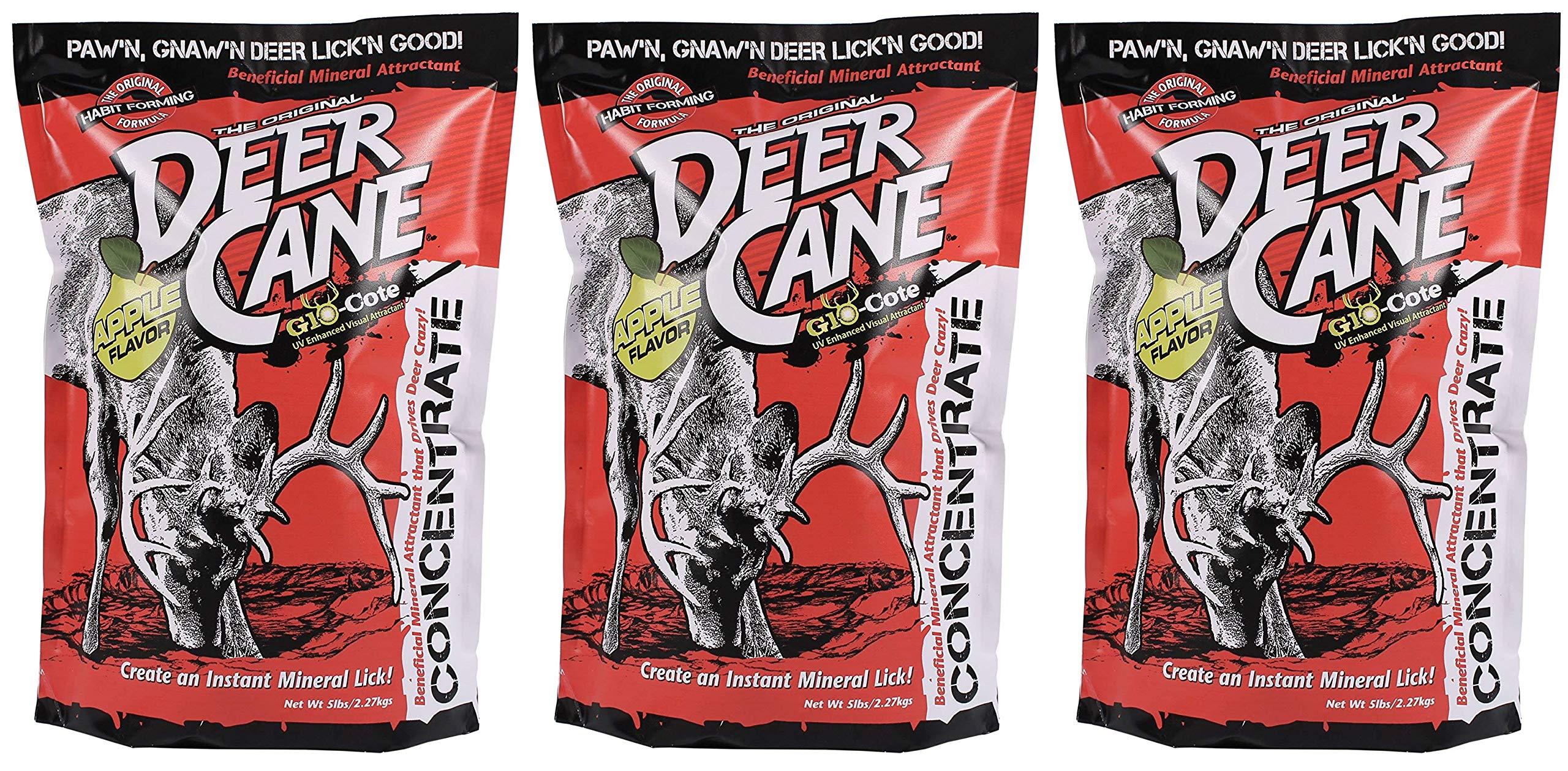 Evolved Habitat Deer Cane Apple UV Deer Attractant (Тhree Pаck)