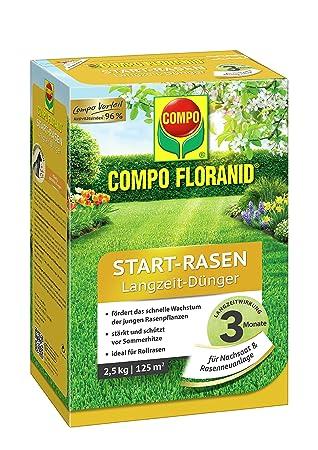 Beliebt Bevorzugt COMPO FLORANID Start-Rasen Langzeit-Dünger, 3 Monate @LJ_49