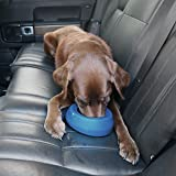 Kurgo No Spill Dog Travel Bowl | Portable No-Mess