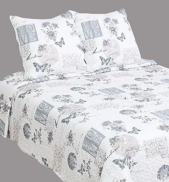 couvre lit boutis pour lit 2 places 140 x 190 cm 160 x 200 cm - Couvre Lit Boutis