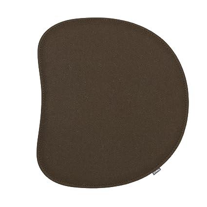 Cojín para silla Panton 2-capa cafe marrón: Amazon.es ...