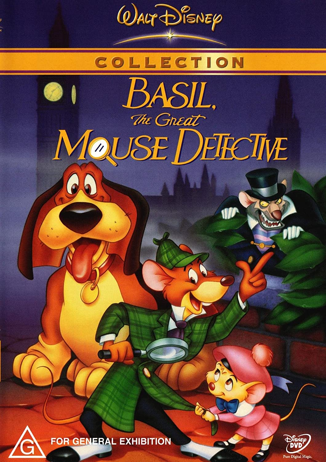 Amazon.co.jp | Basil The Great Mouse Detective DVD DVD・ブルーレイ -
