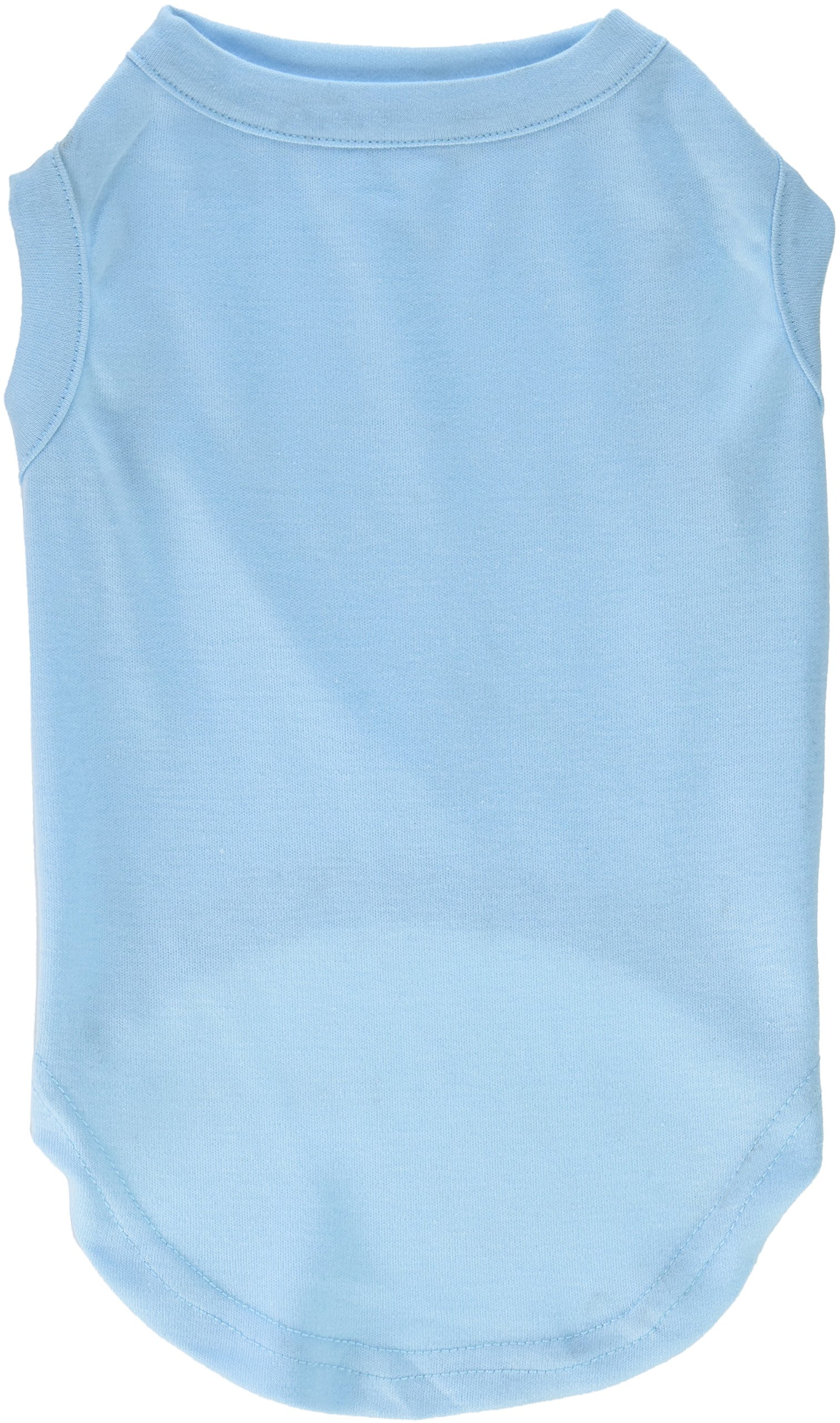 Mirage Pet Products 14-Inch Plain Shirts, Large, Baby Blue