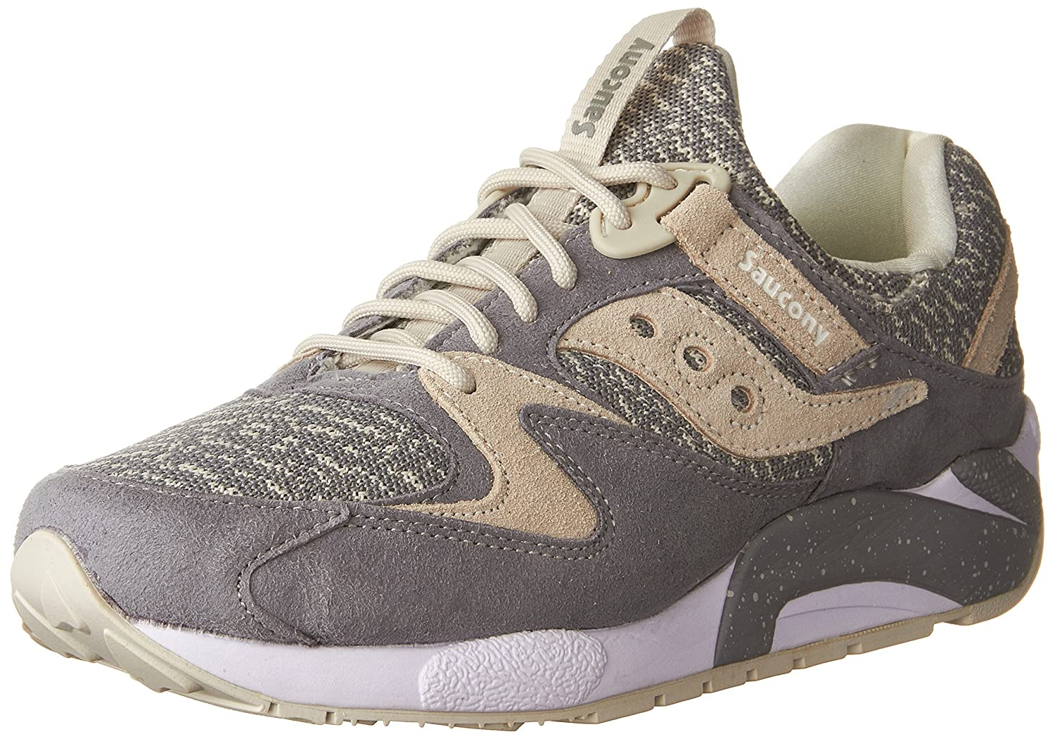 low priced b8802 e0978 Saucony Originals Men s Grid 9000 Knit Grey Sneaker  Buy Online at Low  Prices in India - Amazon.in