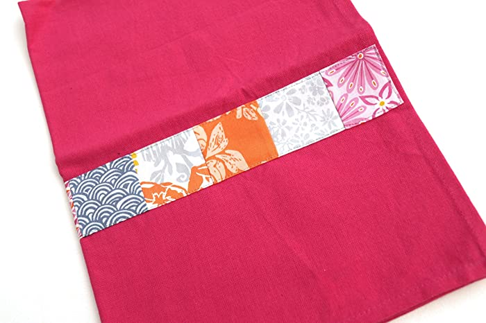 Amazon.com: Colorful Kitchen Towel with Floral Patchwork ...