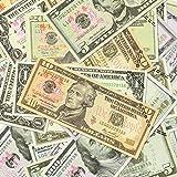 XDOWMO 140Pcs Prop Money Play Money Game Realistic