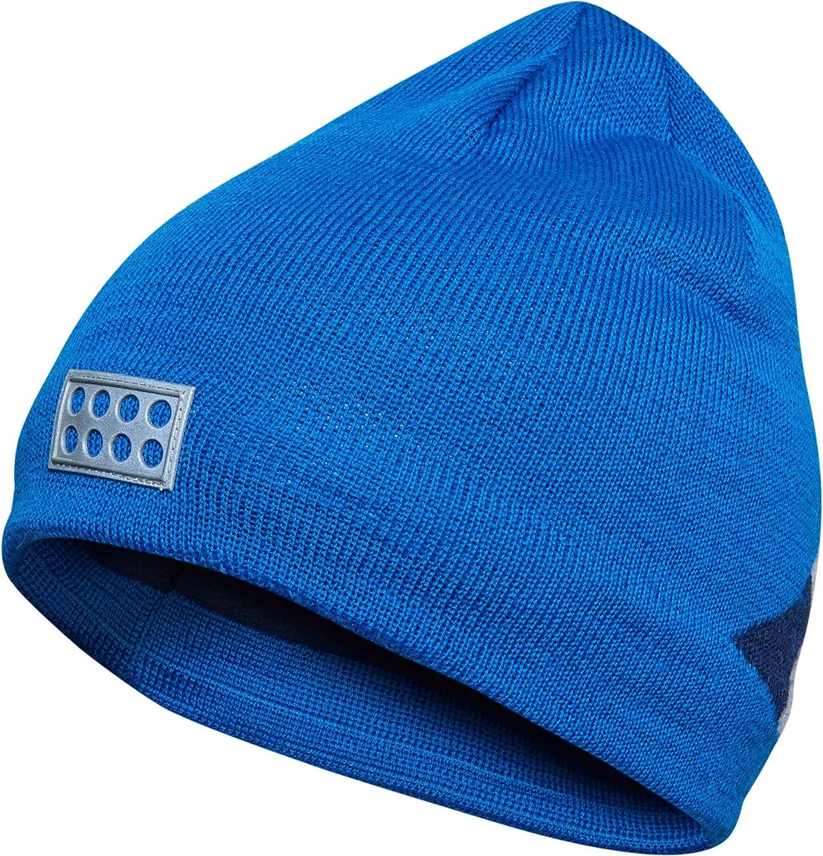 3m Scotchlite Reflector Badge LEGO Wear Boys Fleece-Lined Knit Patterned Hat