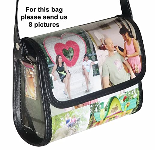 Amazon personalized small size crossbody bag with your own personalized small size crossbody bag with your own choice of pictures or anything else solutioingenieria Gallery