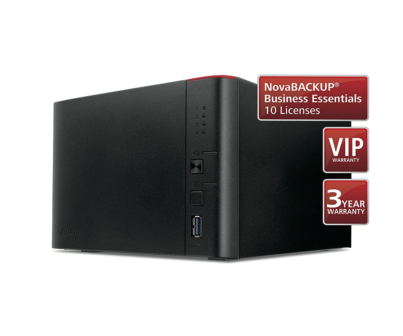 TeraStation 1400 4 Bay Desktop NAS Buffalo TS1400D0404-EU 4TB 4 x ...