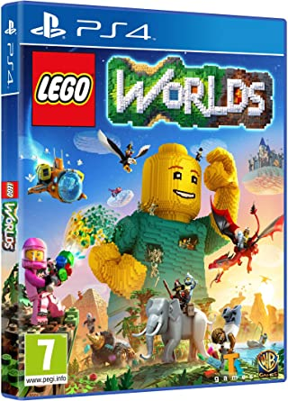 LEGO Worlds - Edición Exclusiva Amazon - PlayStation 4: Amazon.es: Videojuegos