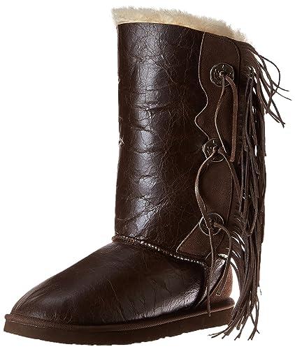 7195d22d4e6 Koolaburra Women's Trishka Tall Fringe Snow Boot