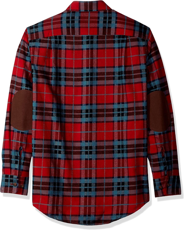 Pendleton Mens Long Sleeve Button Front Hawthorne Flannel Shirt