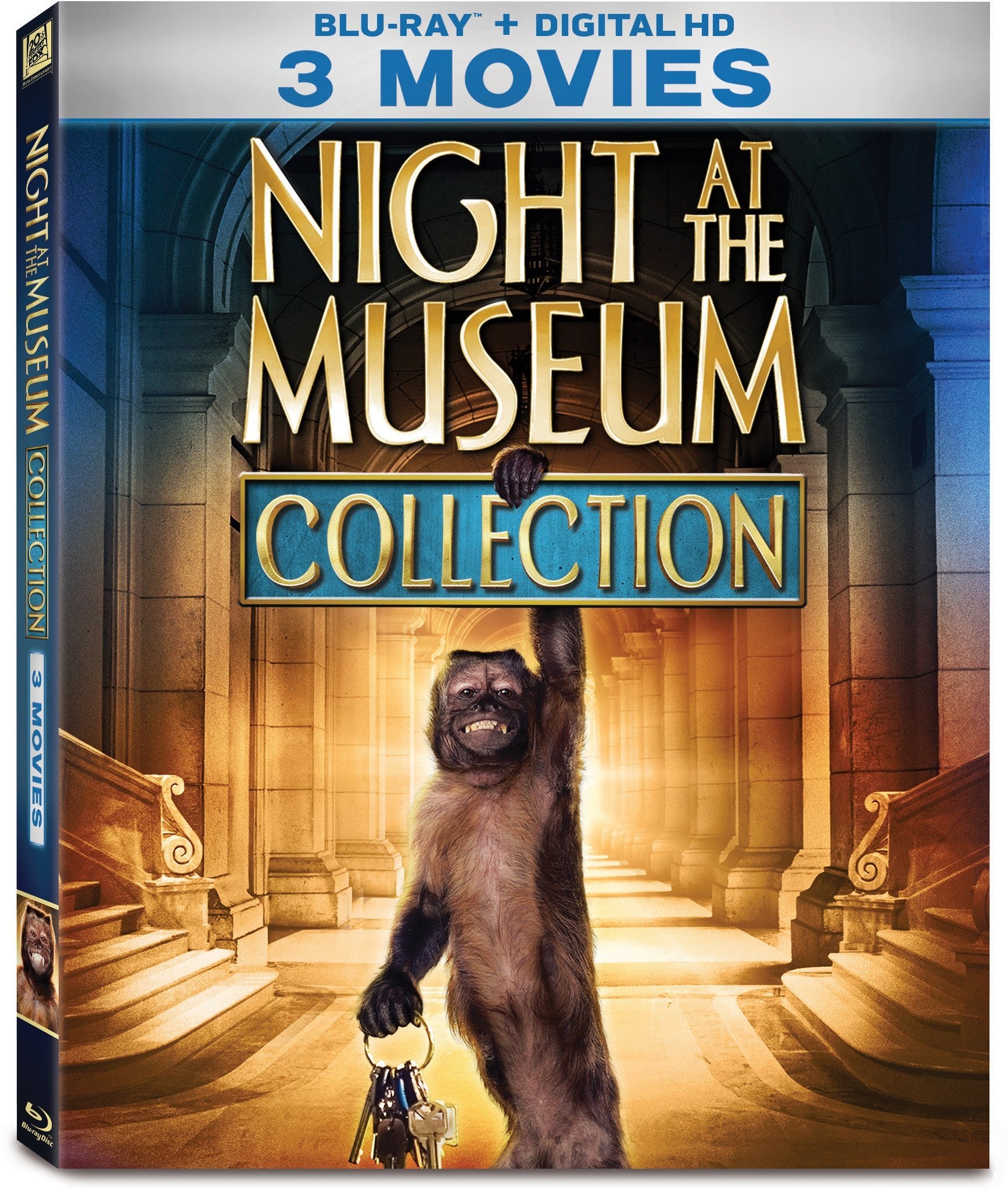 Blu-ray : Night at the Museum: 3-Movie Collection (3 Pack, 3 Disc)