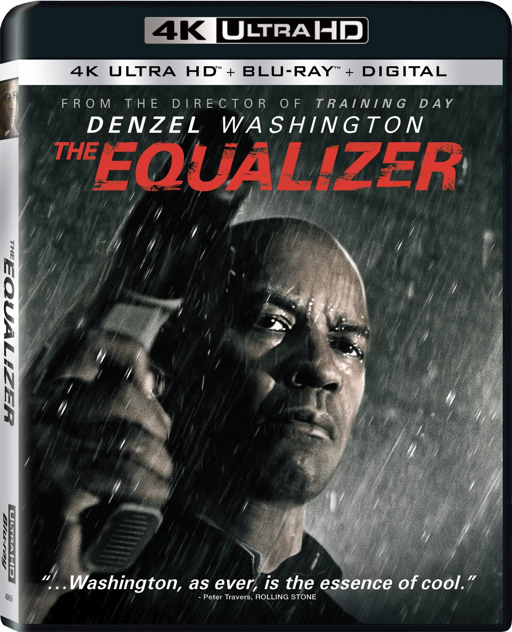 Blu-ray : The Equalizer (With Blu-Ray, 4K Mastering, 2 Pack, Dolby, 2PC)