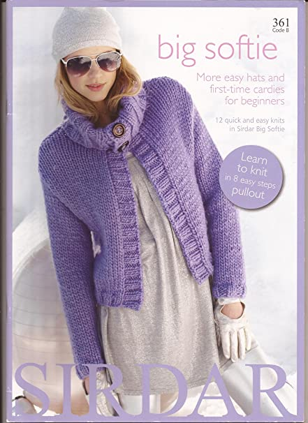 Amazon Big Softie Sirdar Knitting Pattern Book 361 12 Quick
