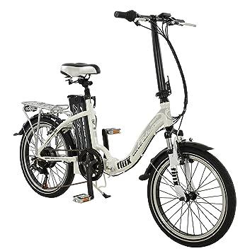 "20 ""Flux – Bicicleta eléctrica plegable y de paso bajo E-Bike bicicleta"