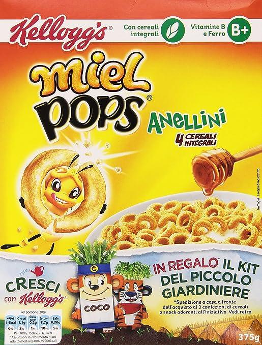 12 opinioni per Kellogg's Cereali Integrali Anellini- 375 gr