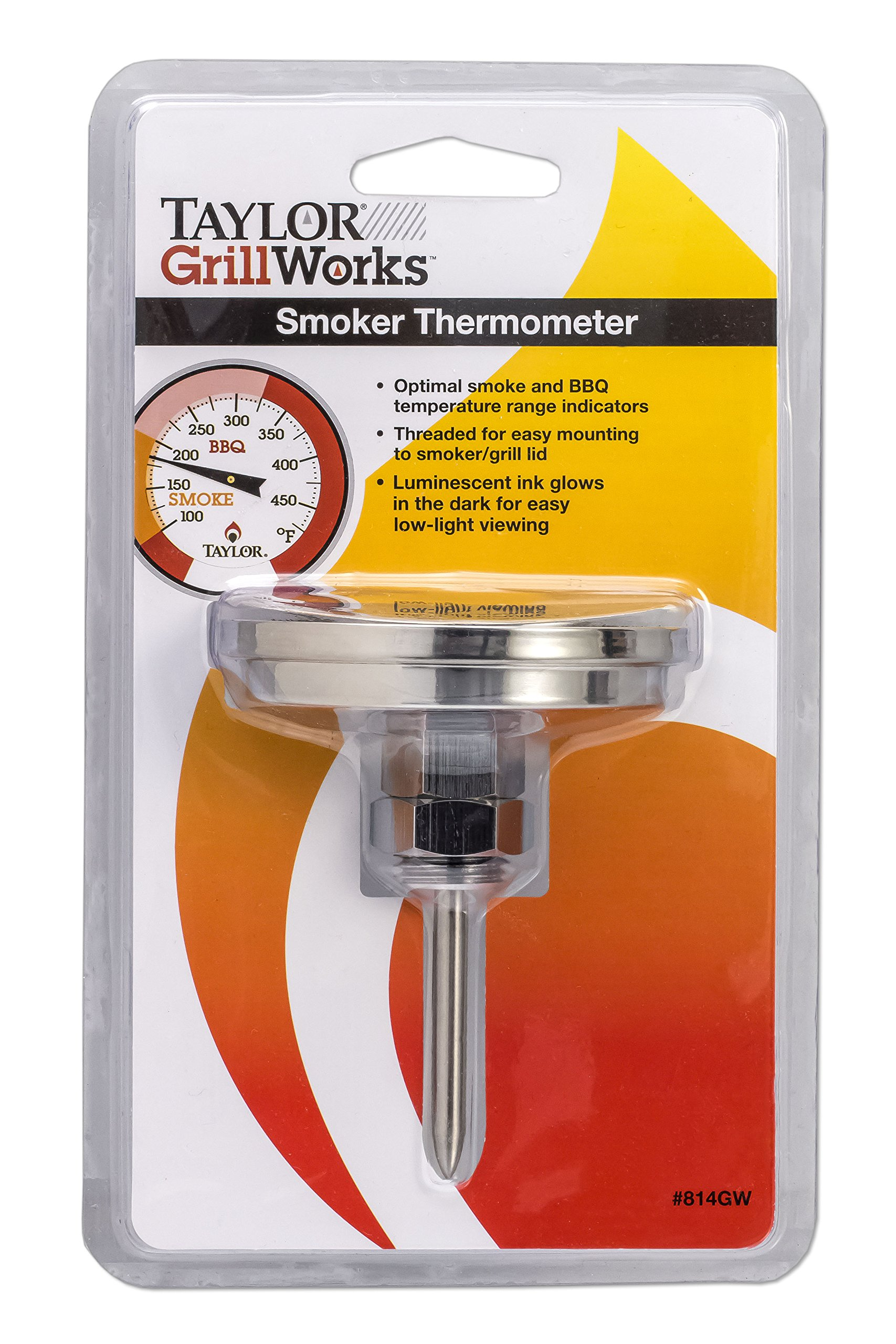 Taylor Grill Smoker Thermometer by Taylor Precision Products (Image #2)