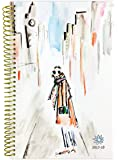 """bloom daily planners 2017-18 Academic Year Daily Planner - Passion/Goal Organizer - Monthly and Weekly Datebook and Calendar - August 2017 - July 2018 - 6"""" x 8.25"""" - City Dreams"""