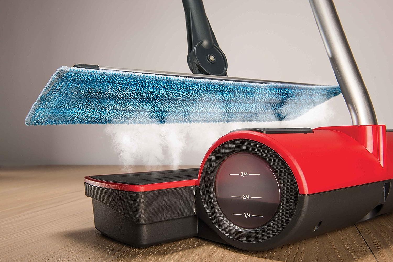 Polti moppy red lavapavimenti a vapore cordless per tutti i