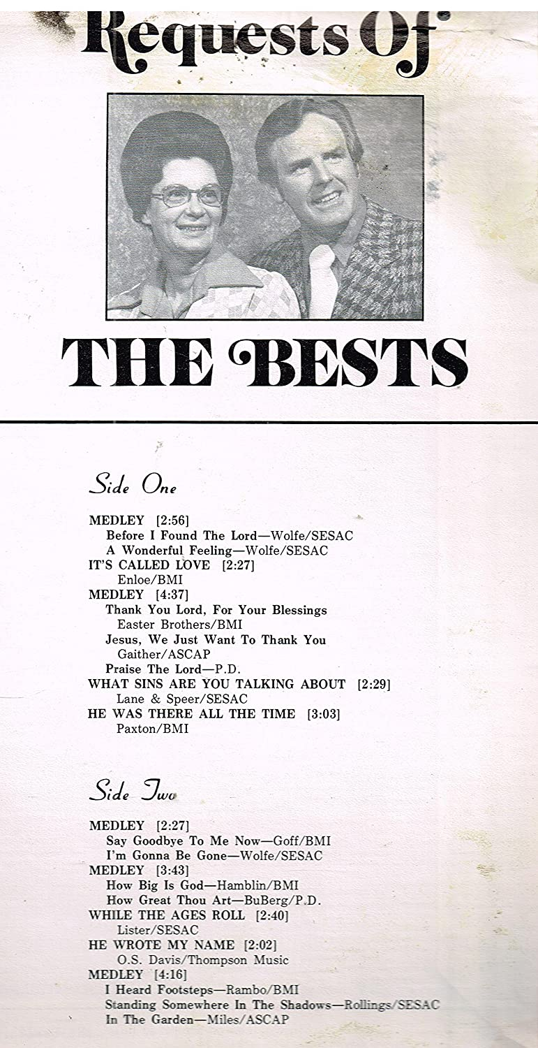 Harvey & Joan - Madison Indiana The Bests - Requests of the Bests