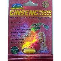 Ginseng Power 5000 Male Sexual Performance Enhancement--3 Pills of Libi Up