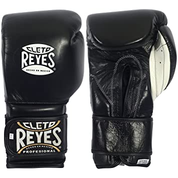 Cleto Reyes Limited Edition Training Velcro Boxing Gloves - Solid Gold