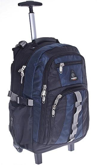 Schulrucksack Rucksack Schulranzen Ranzen Schwarz Nylon Tasche Schultasche