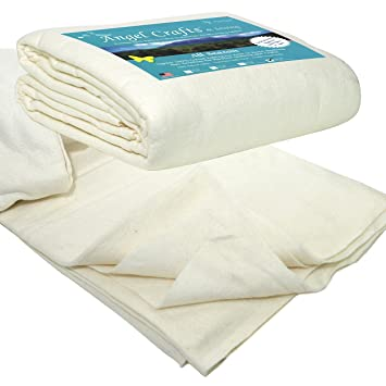 Amazon.com: PREMIUM 100% NATURAL Cotton Batting for Quilts - Queen ... : batting for quilts - Adamdwight.com