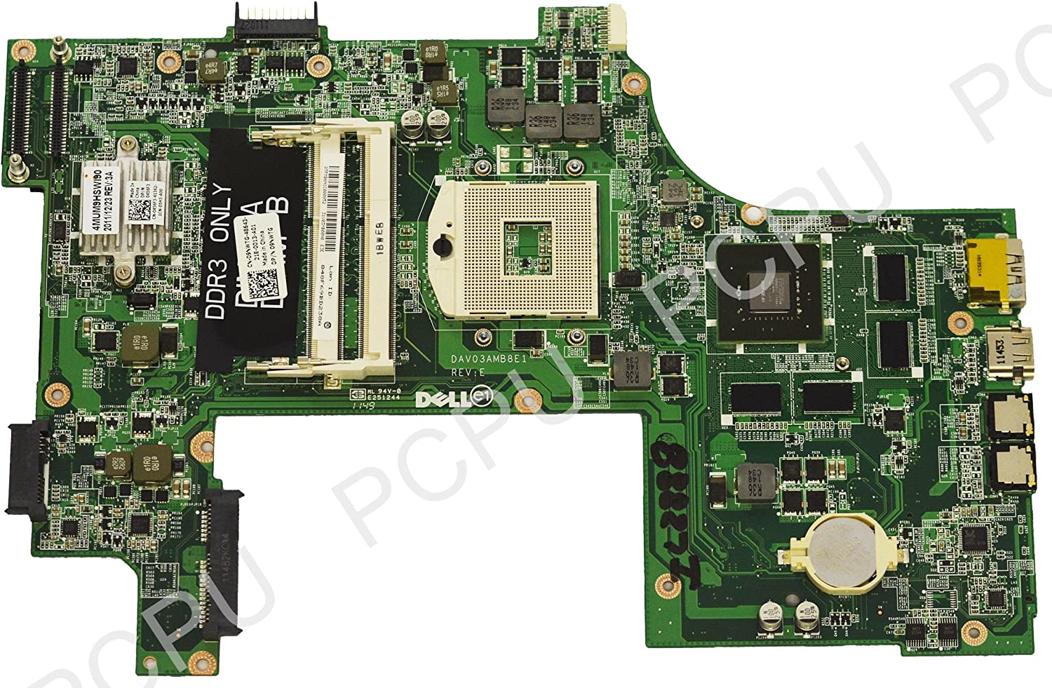 9NWTG Dell N7110 Intel Laptop Motherboard s989