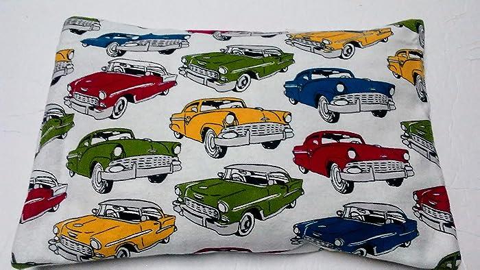 Amazon Com Heat Pack Heating Pad Vintage Cars Corn Bag Santa