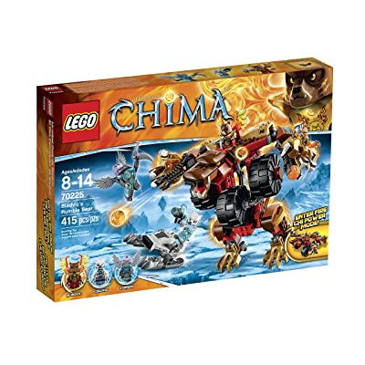 LEGO Legends of Chima 70225 Bladvic's Rumble Bear Building Kit: Toys & Games