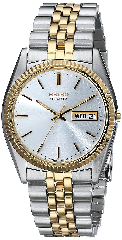 60ced819d59 Amazon.com  Seiko Men s SGF204 Stainless Steel Two-Tone Watch  Seiko   Watches