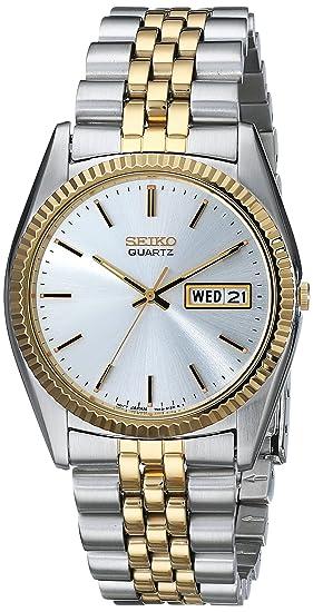 Reloj de Acero Inoxidable SGF204 de Dos Tonos, para Hombre, de Seiko: Seiko: Amazon.es: Relojes