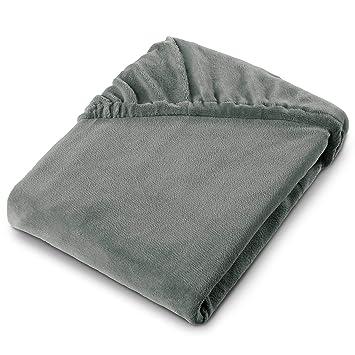 Microfaser Spannbettlaken Spannbetttuch Spannlaken für Wasserbetten geeignet