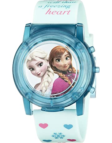 661ca5fd4930 Disney Kids  FZN3821SR Digital Display Analog Quartz Blue Watch.  2