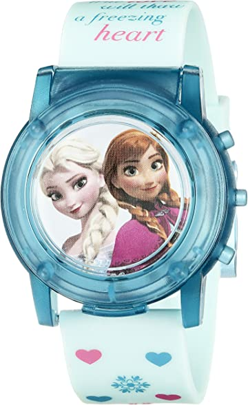 Disney Kids FZN3821SR Digital Display Analog Quartz Blue Watch