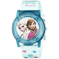 Kids' FZN3821SR Digital Display Analog Quartz Blue Watch
