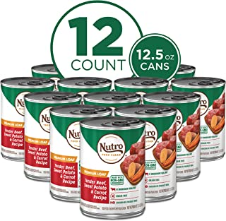 product image for NUTRO Kitchen Classics Adult Wet Dog Food, Premium Loaf 12.5 Ounce Cans (Pack of 12)