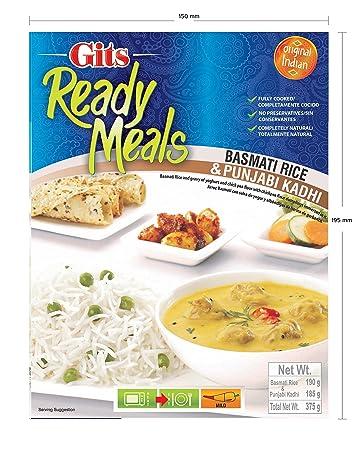 Gits Punjabi Kadhi with Basmatic Rice, 375 grams