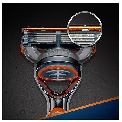 Gillette Fusion Power Cuchillas de Recambio de Maquinilla de ...