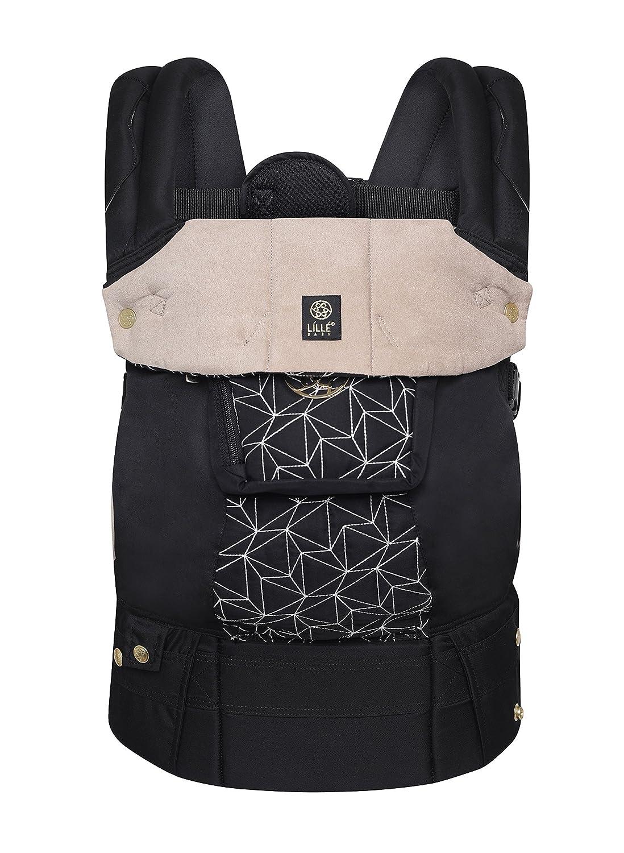 360//° ergonomique b/éb/é et enfant de transport par Lillebaby/ /The Complete en relief Luxe Diamant Six positions Noir