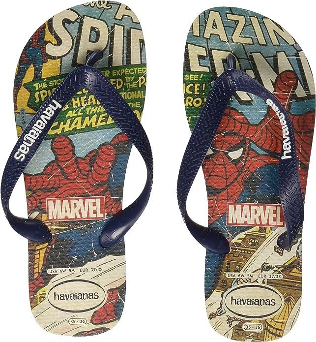havaianas marvel spiderman