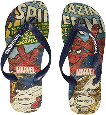 bc4ea52eb26d46 Havaianas Unisex Adults  Top Spiderman Flip Flops  Amazon.co.uk ...