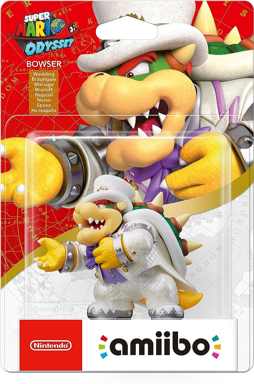 Nintendo - Colección Super Mario, Figurina Amiibo Bowser Odyssey ...