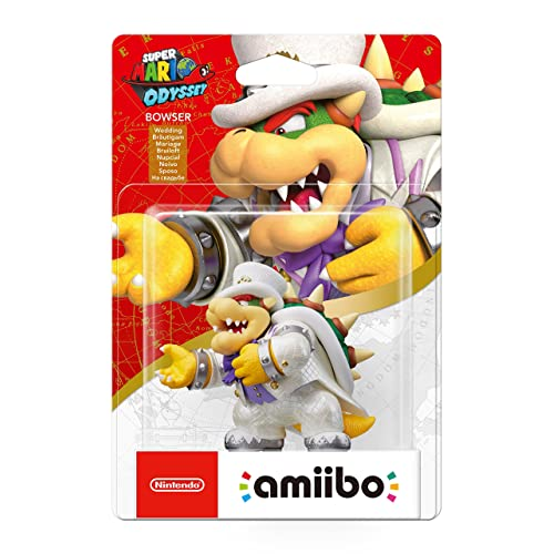 Bowser Wedding Outfit amiibo - Super Mario Odyssey (Nintendo Wii U/3DS/Switch)