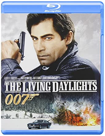 Image result for The LIving daylights blu ray