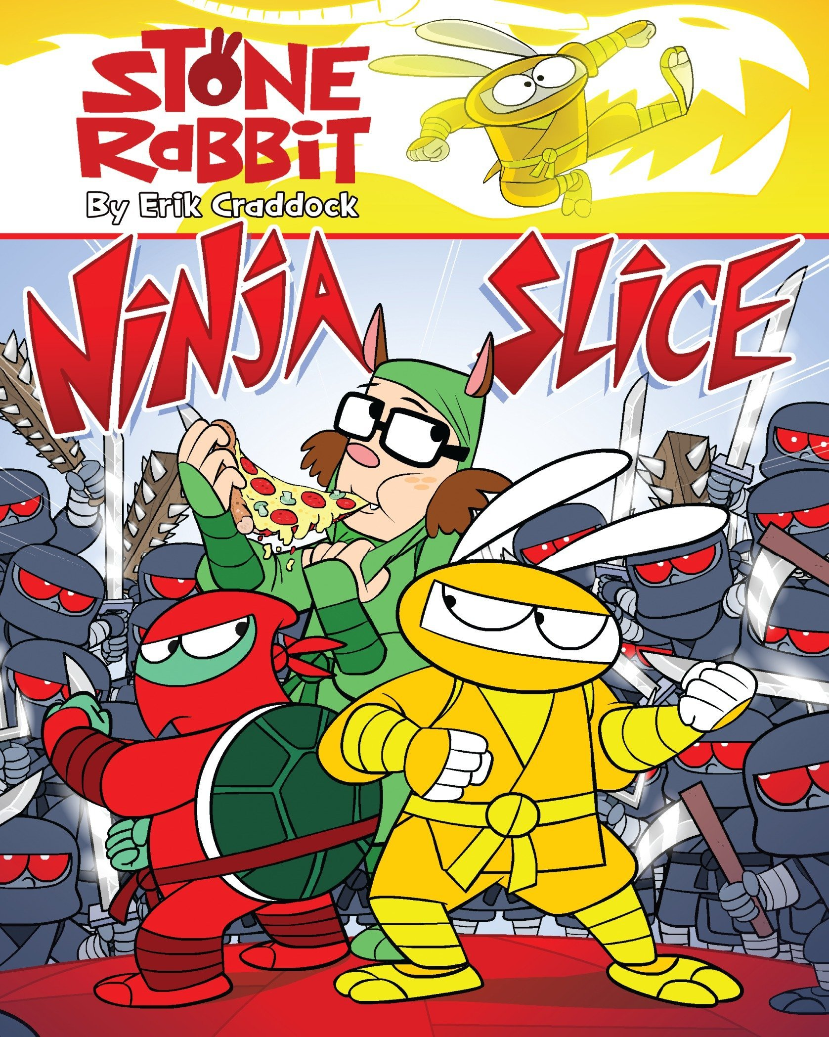 Stone Rabbit #5: Ninja Slice: Amazon.es: Erik Craddock ...